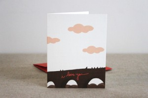 kate&biride I love you card