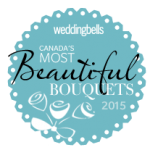 wedding bells best bouquets 2015 badge
