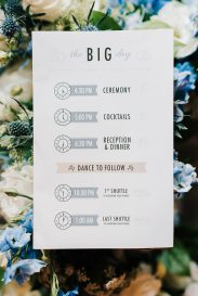 Winnipeg Summer Wedding Flowers Blue and White by Oak & Lily 2017 15