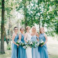 Winnipeg Summer Wedding Flowers Blue and White by Oak & Lily 2017 29